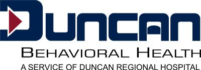 Logo of duncan regional hospital behavioral health