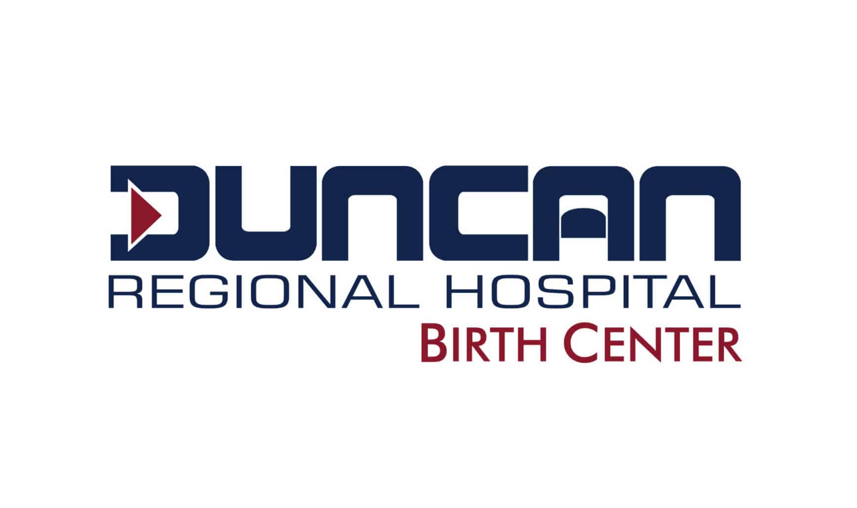logo for the Duncan Regional Hospital birth center