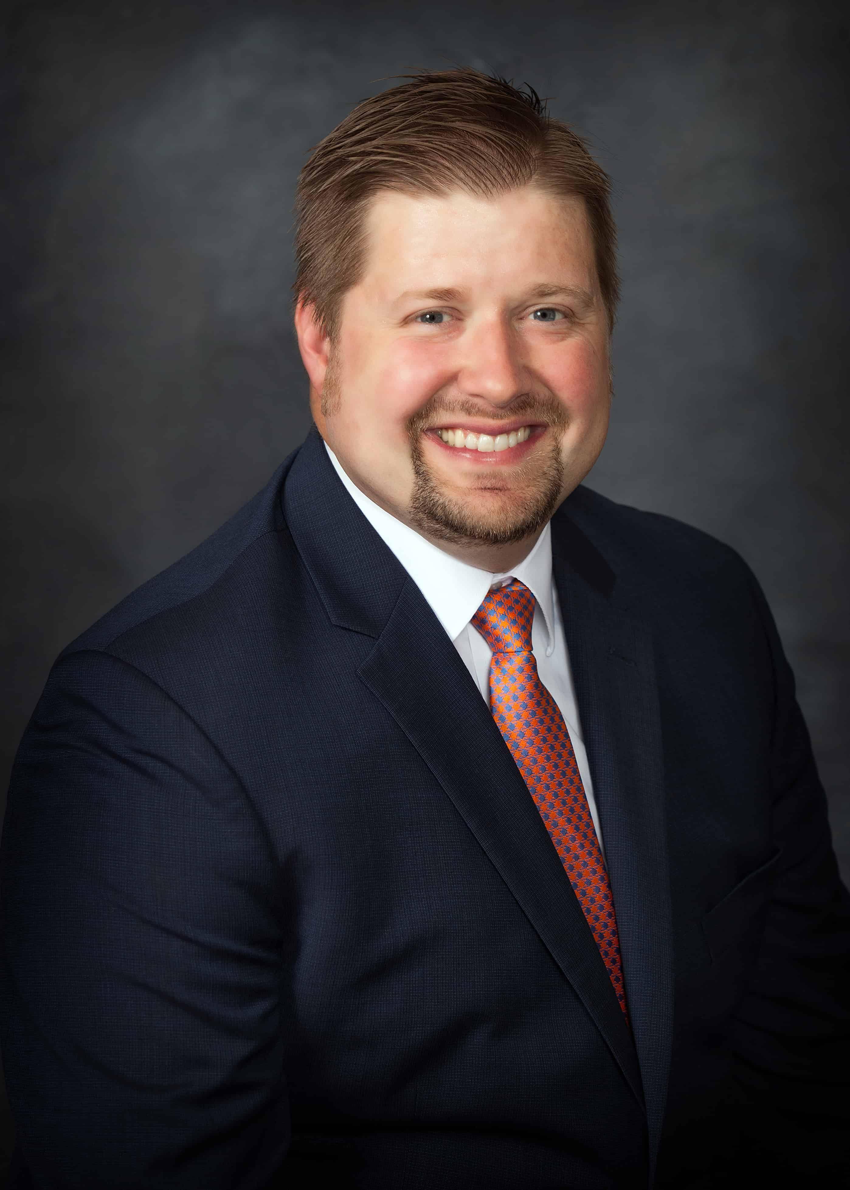 Headshot of Doctor James Petersen